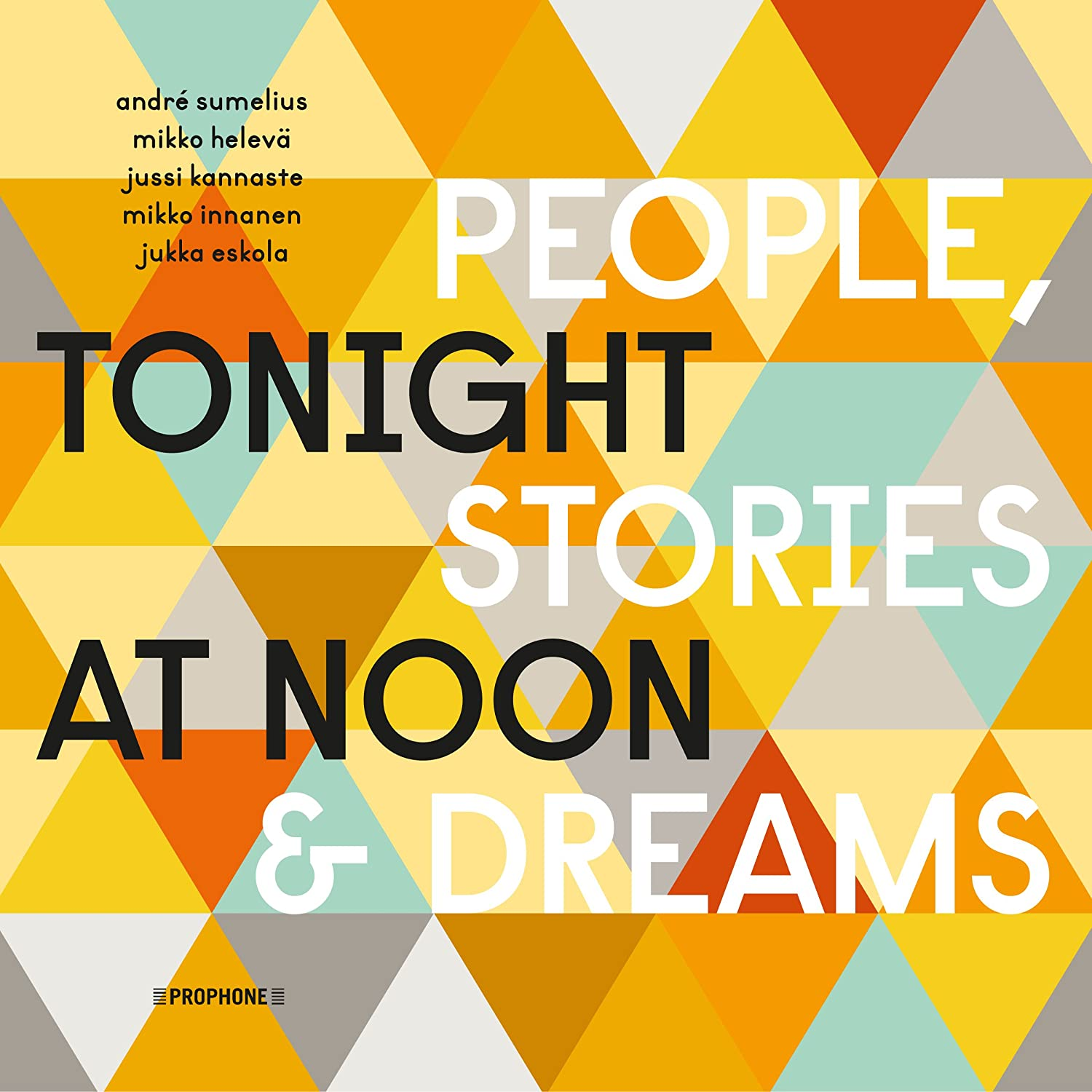 Tonight Brand new at Noon - Stories Dreams 2021 autumn and winter new People