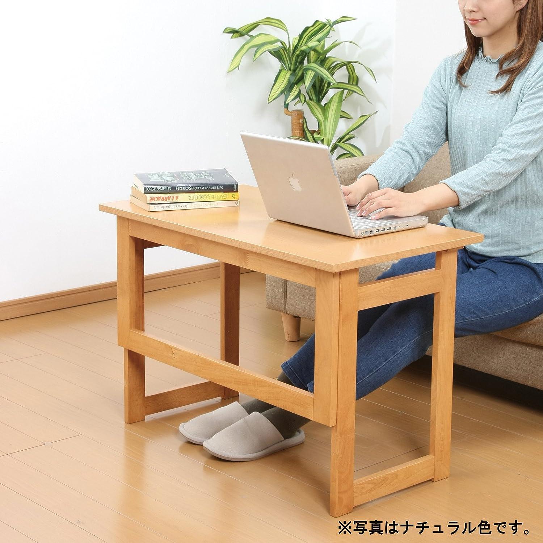 木製折りたたみ式補助テーブル 高さ69cm シンプル 木製テーブル/ナチュラル(20) B075M794ZB  ナチュラル(20)