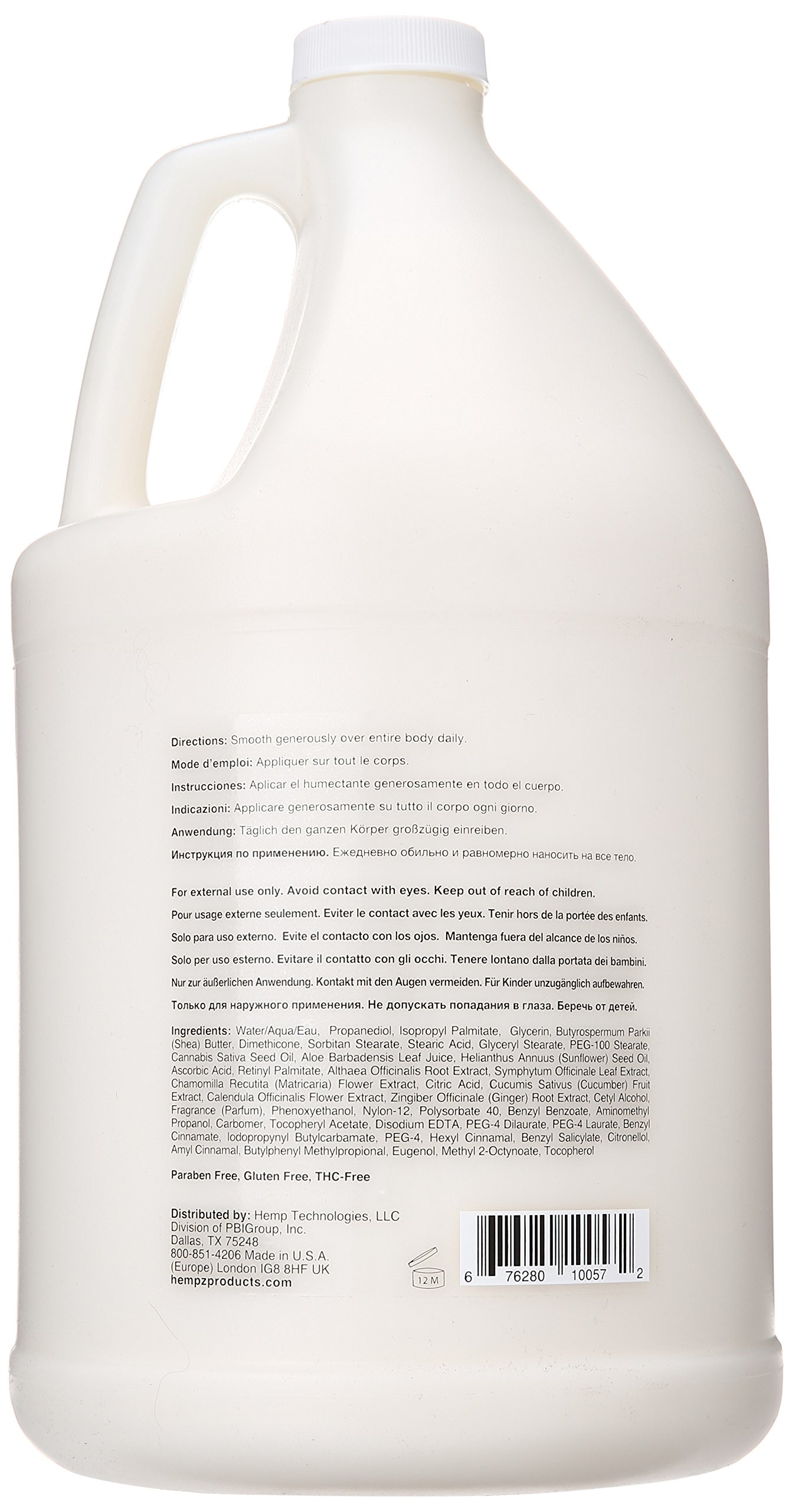 Hempz Moisturizer Lotion Gallon, 128 Ounce by Hempz (Image #2)