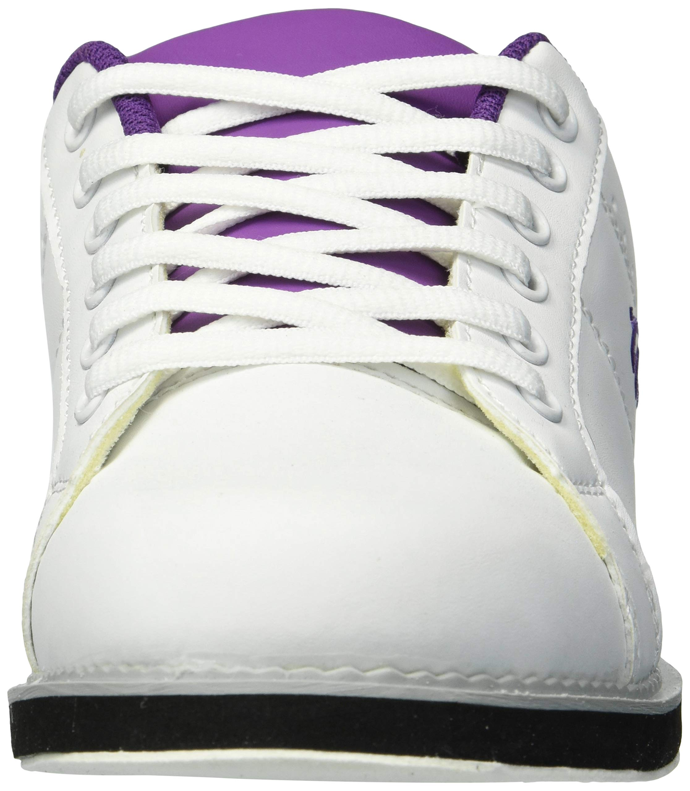 BSI Women's 460 Bowling Shoe, White/Purple, Size 10 by BSI (Image #4)
