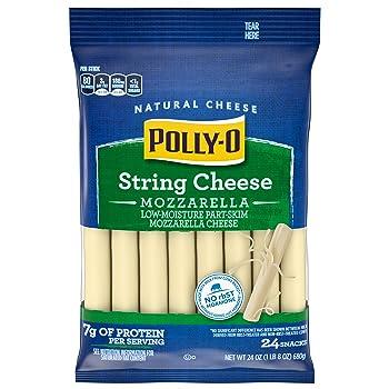 POLLY-O Zero Sugar String Cheese
