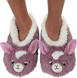 229ab000c15 Snoozies Womens Furry Foot Pals