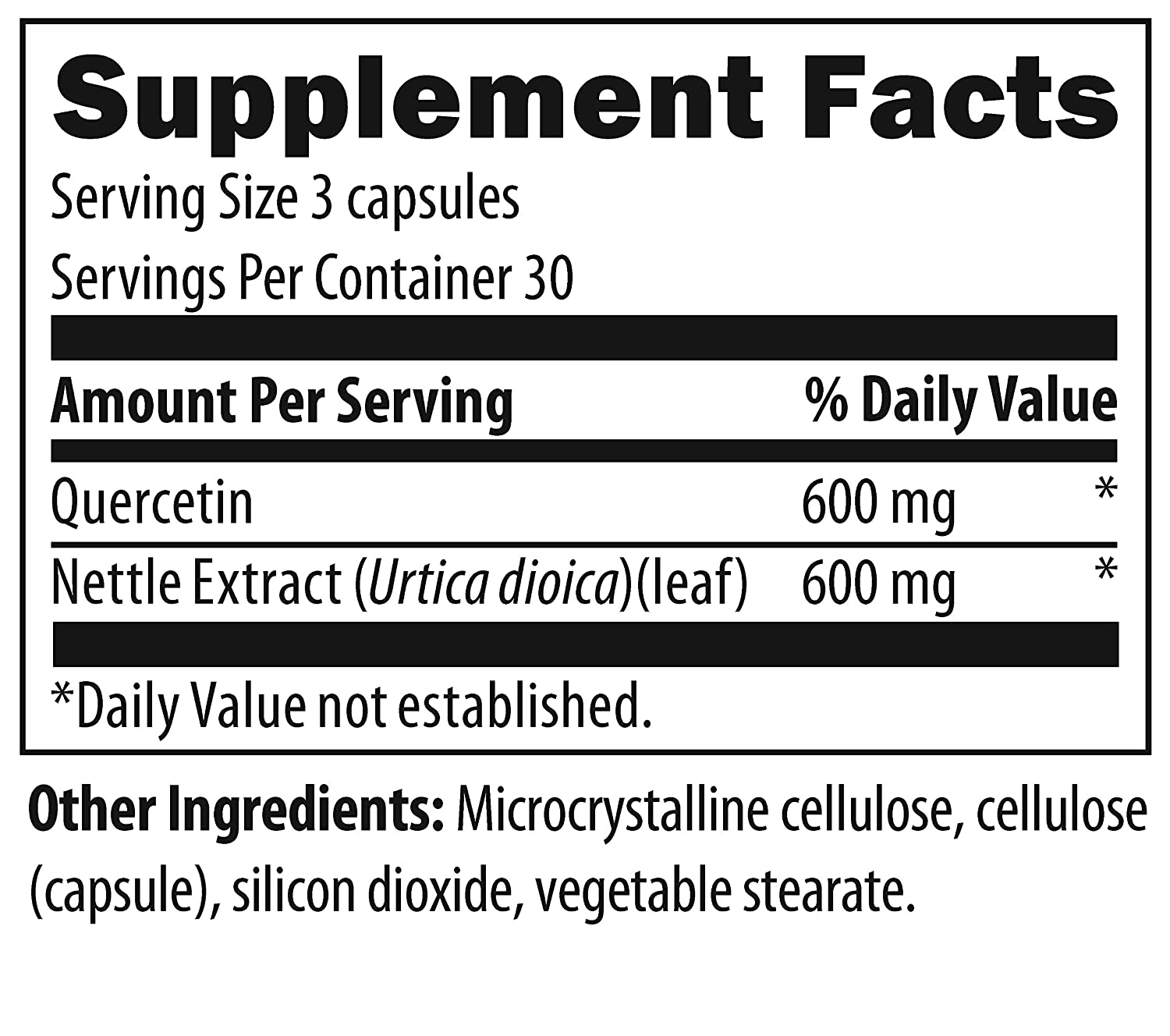 Amazon.com: Designs for Health Quercetin Plus Nettles ...