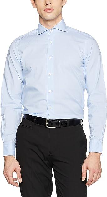Scalpers Holmes Shirt Camisa, Blue, 41 para Hombre: Amazon.es: Ropa y accesorios