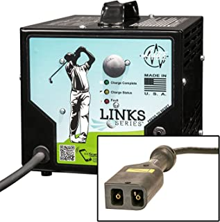amazon com ezgo 602718 powerwise ii charger (36 volt) golf Ezgo Battery Charger Wiring Diagram 36volt 21amp links series golf car battery charger w powerwise ezgo txt connector ezgo battery charger wiring diagram