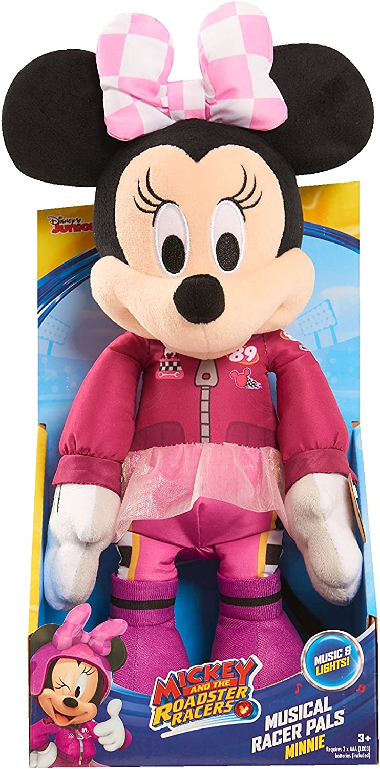 Just Play Roadster Racers Musical Racer Pals Minnie Plush