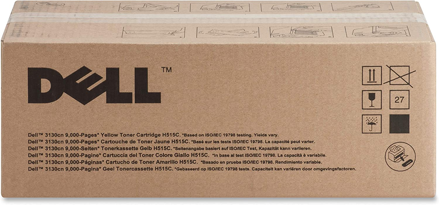 Dell H515C Yellow Toner Cartridge 3130cn/3130cnd Laser Printers