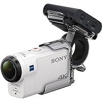 Sony FDR-X3000RFDI Action Camera 4K con Kit Telecomando Live View, Sensore CMOS Exmor R, lenti Carl Zeiss Tessar, Wi-Fi, NFC, GPS, Bianco