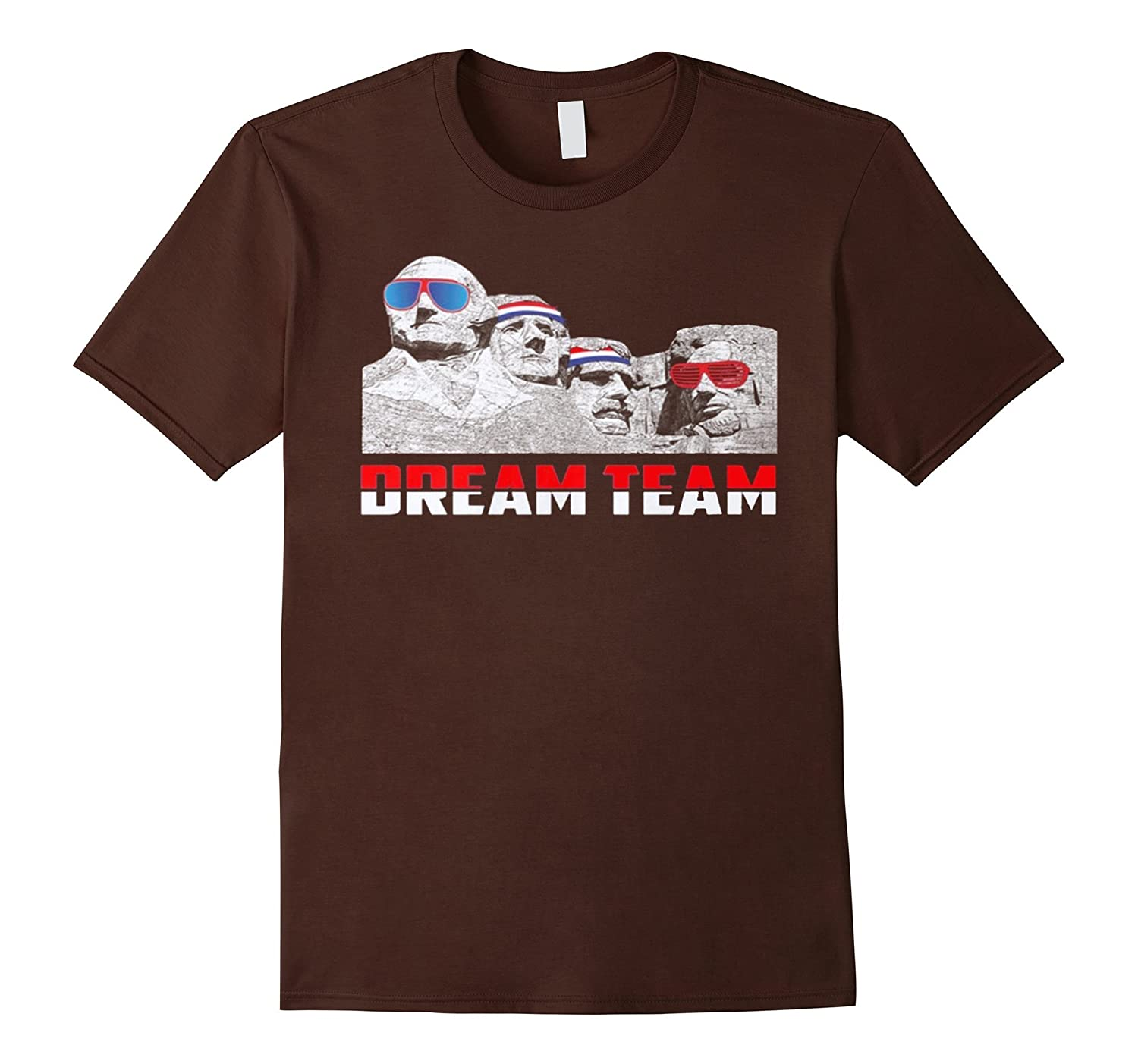 mount rushmore dream team t shirtpl � polozatee