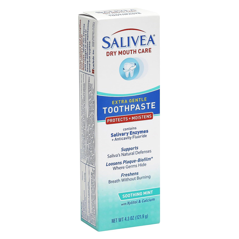 Amazon.com: salivea boca seca pasta dental con xilitol ...