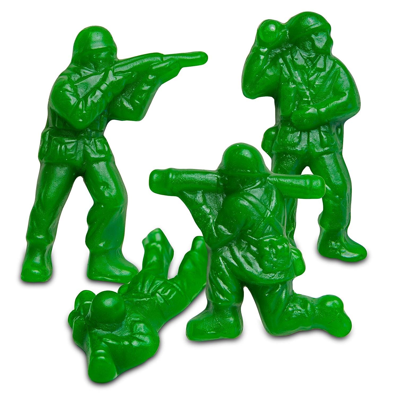 Amazon Albanese Candy Gummi Army Guys 5 pound Bag Gummy