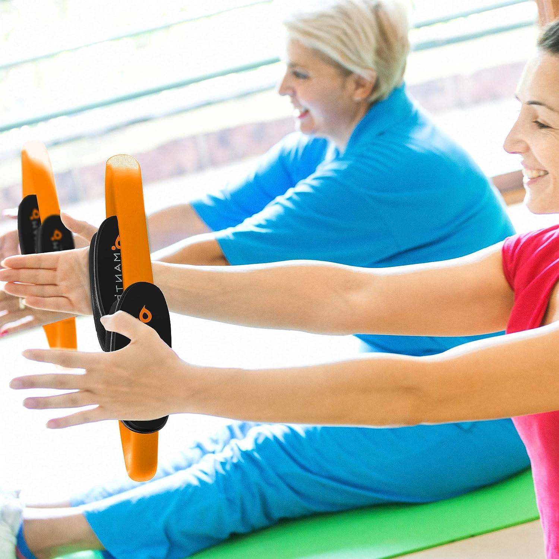 Anillo de Resistencia C/írculo M/ágico para Fitnes MANTRA SPORTS Anillo de Pilates Mejora la Fuerza Flexibilidad y Postura Poster y Bolsa Tonifica y Moldea los Muslos Internos y Externos