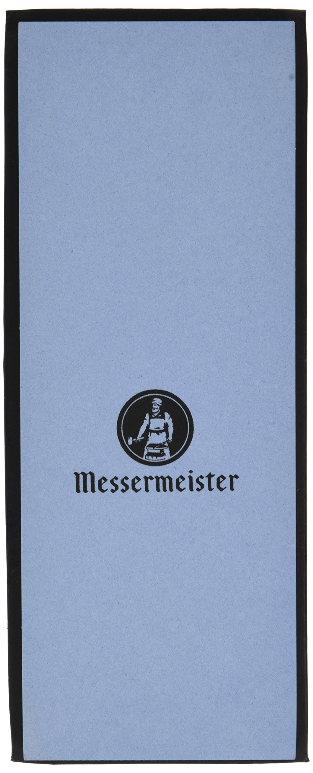 Messermeister Two-Sided Water Stone/120 & 240 Grit/Silicone Base Storage