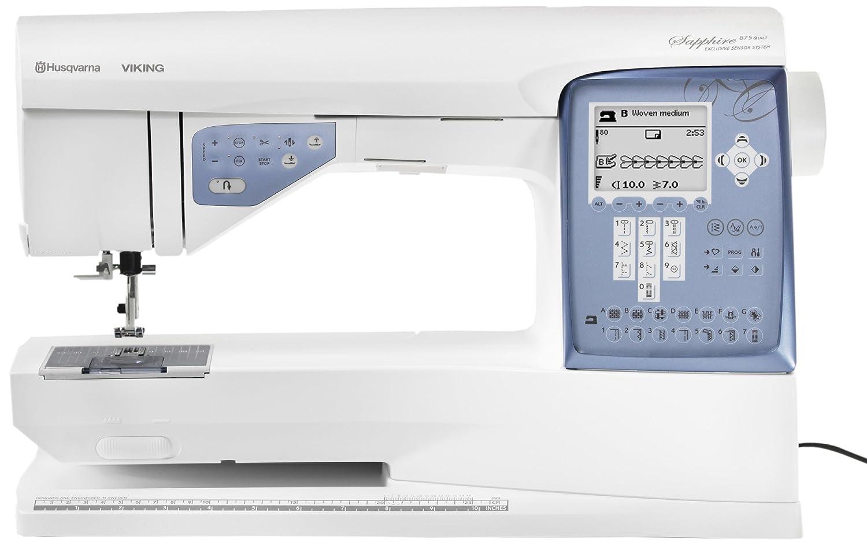 Husqvarna Viking Sapphire 875 Q ordenador máquina de coser: Amazon.es: Hogar