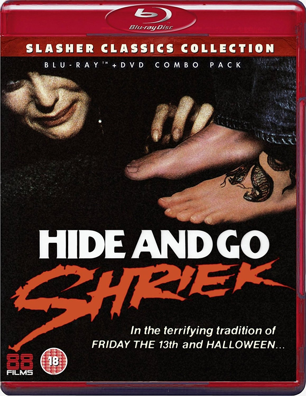 Hide and Go Shriek Dual Format Reino Unido Blu-ray: Amazon.es: Brittain Frye, Donna Baltron, George Thomas, Skip Schoolnik, Brittain Frye, Donna Baltron: Cine y Series TV