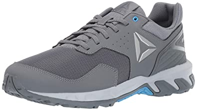 0be4a1a34f8 Reebok Women s Ridgerider Trail 4.0 Cold Grey Sky Blue Pure Silver 5 ...