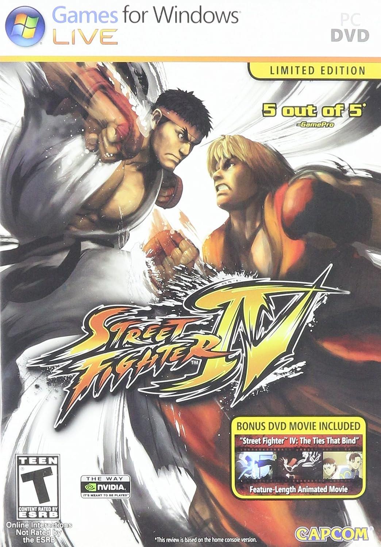 Amazon Com Street Fighter Iv Video Games