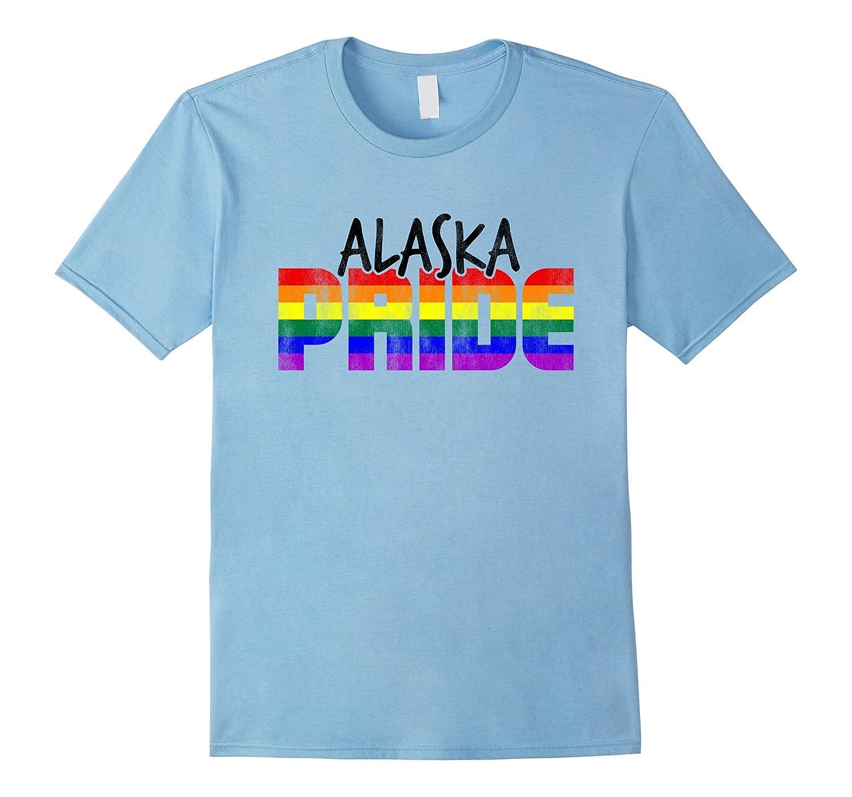 Alaska Pride LGBT Flag T-Shirt-Vaci