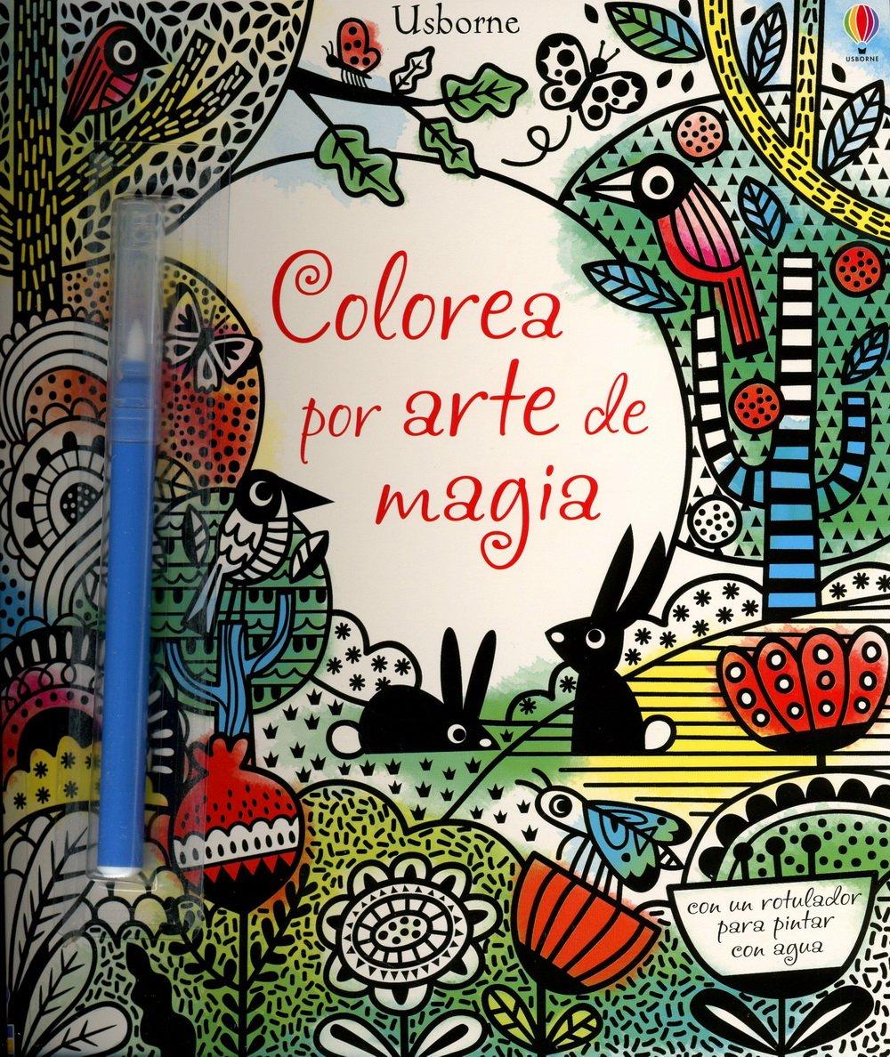 Colorea Por Arte De Magia: Amazon.es: Fiona Watt: Libros