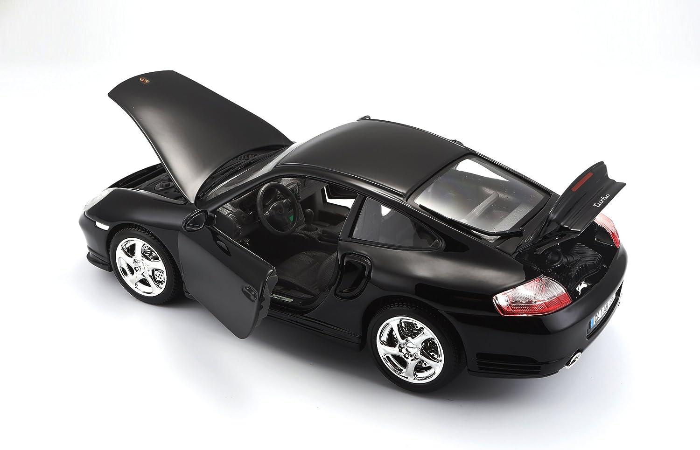 Bburago 1812030 Gold Porsche 911 Turbo Modellino in scala 1:18