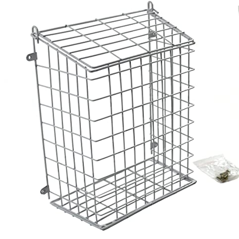 Internal Front Door Letter Box Cage Post Mail Catcher Large White 608  Easipet