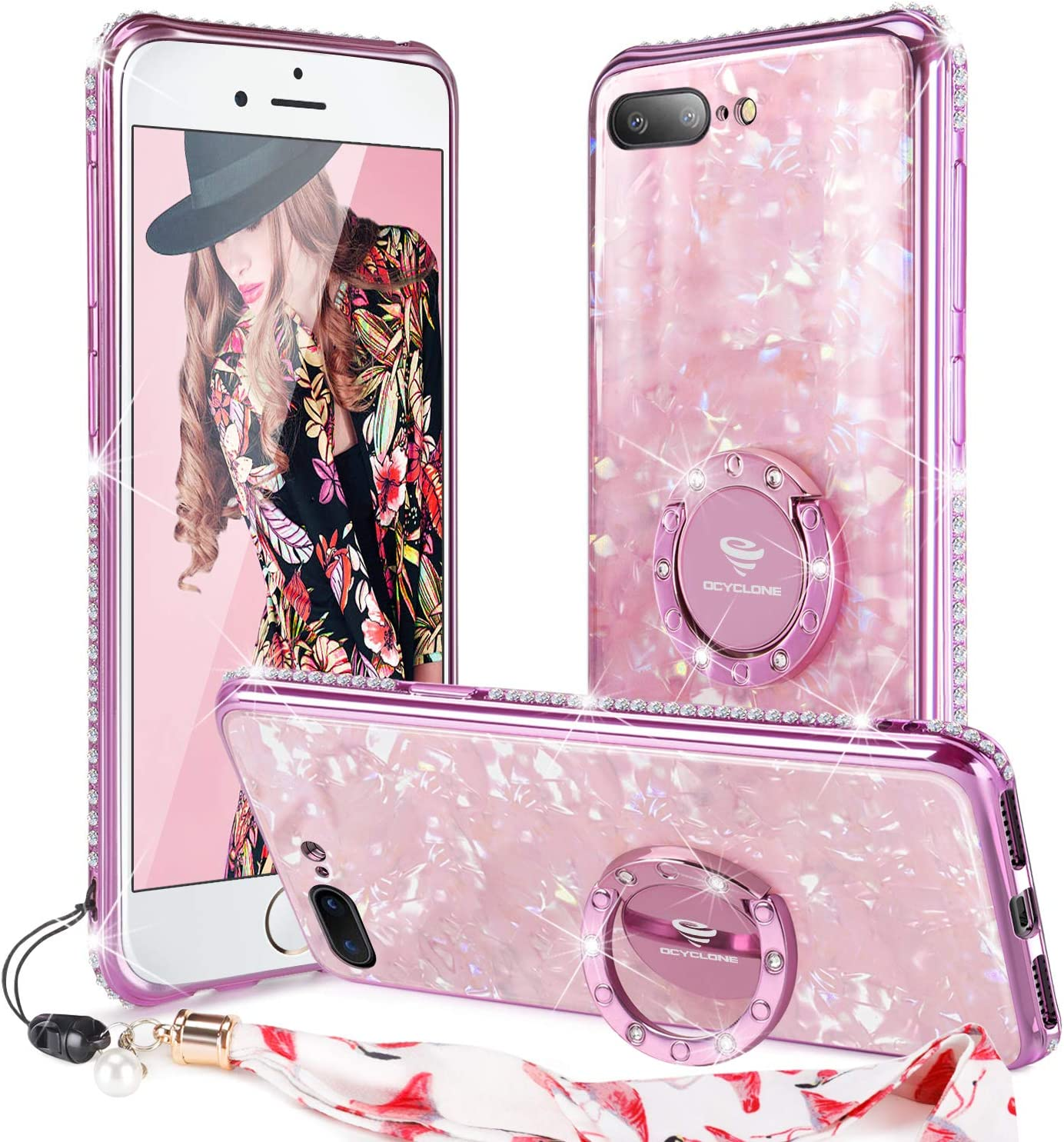 cover glitter iphone 7