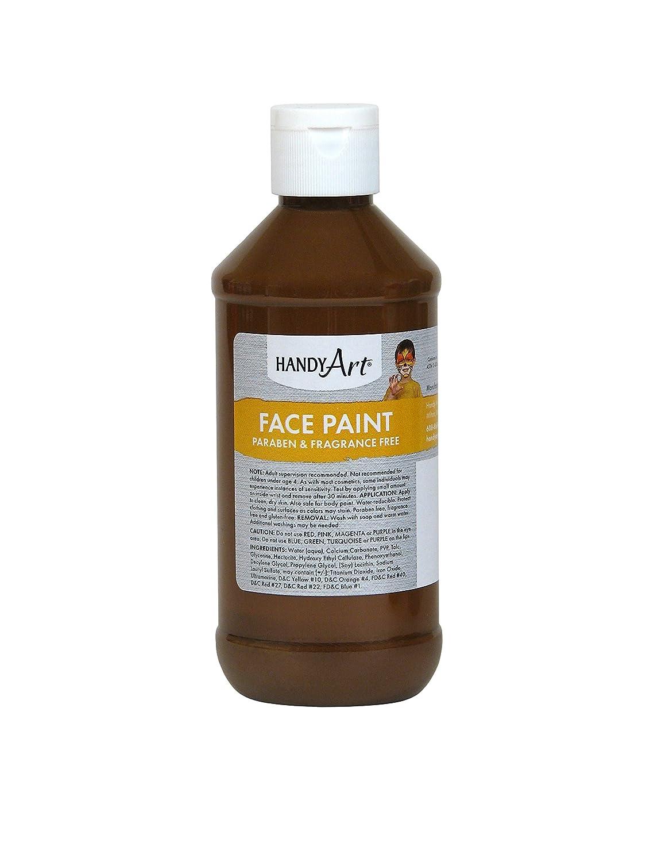 Handy Art® Face Paint, Yellow, 8-Ounce Handy Art® Face Paint Inc. 556-010