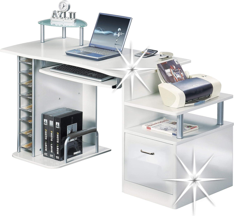 SixBros. Mesa de Ordenador - S-202A/732 - Estructura MDF Color ...