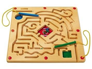 Amazoncom Lakeshore Race To The Finish Magnetic Maze Toys Games