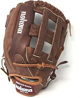 "product image for Nokona Classic Walnut 12.75"" Baseball Glove, Walnut, Right Hand Throw"