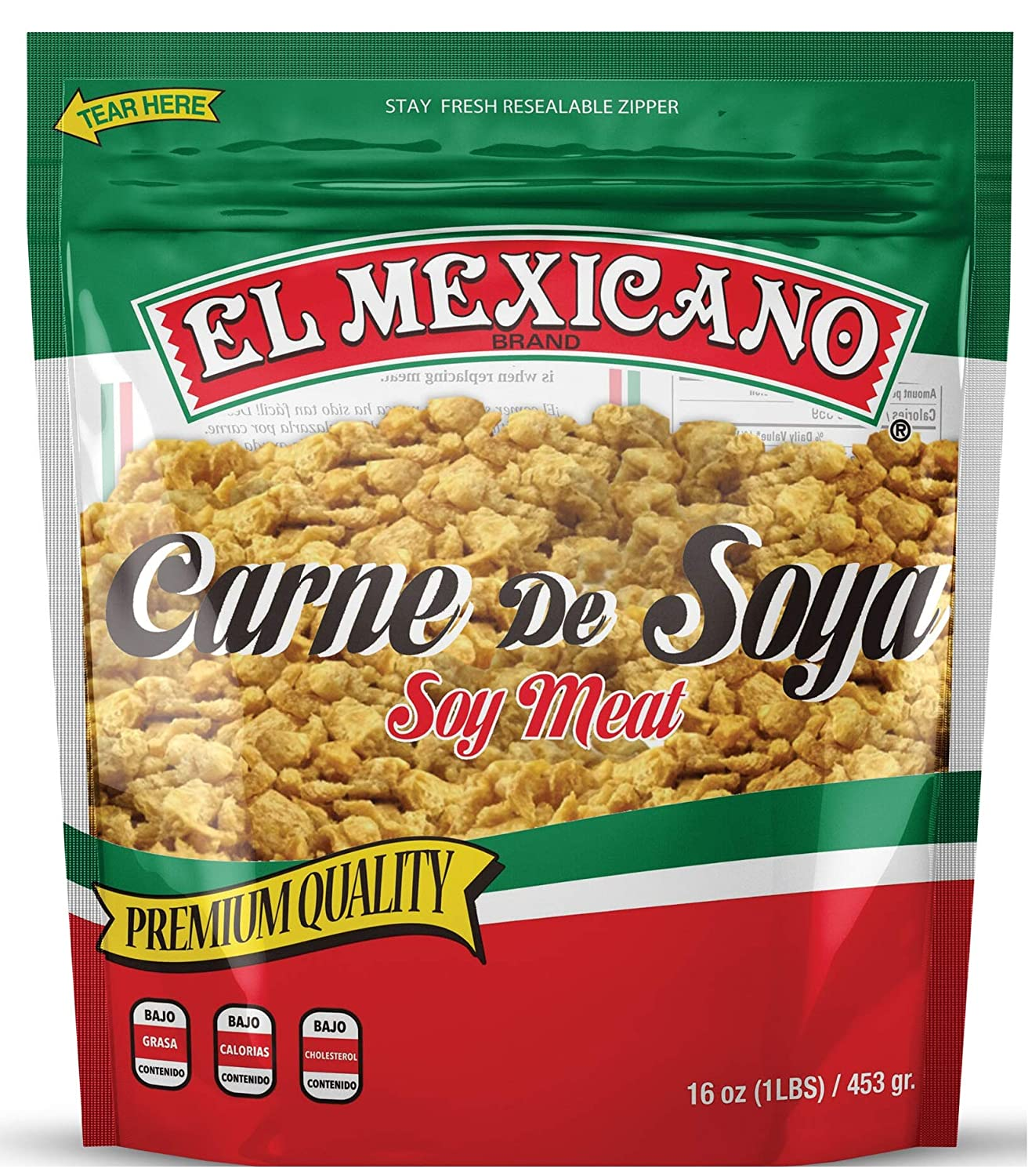 B07T4TTCHT El Mexicano Minced/Textured Vegetable Soy Protein 16 oz 81cxi1aThlL