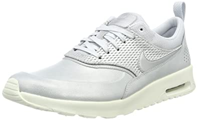design de qualité c4d1a df426 Nike Air Max Thea Premium Leather, Sneakers Basses Femme ...