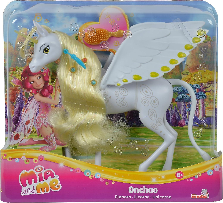 Simba 109480093–Mia and Me Nueva versión Unicornio Onchao