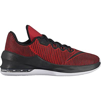fdc8de6e58da Nike Boy s Air Max Infuriate II (GS) Basketball Shoe University Red Black