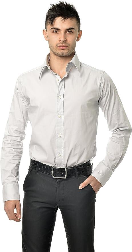 Dolce & Gabbana - Camisa formal - para hombre gris 43: Amazon.es: Ropa y accesorios