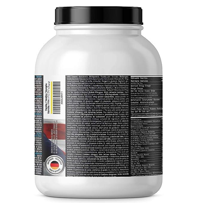 Heavy Weight Gainer, hidratos de carbono y proteínas, suplementos dietéticos BBGENICS, 2000g chocolate: Amazon.es: Salud y cuidado personal