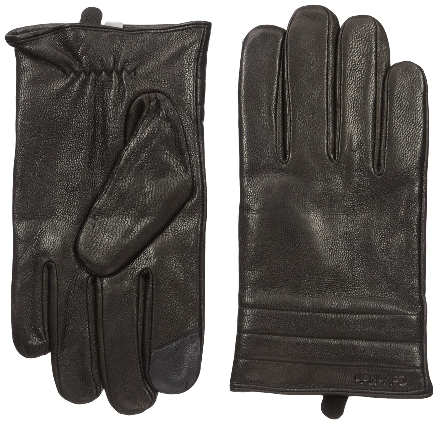 Calvin Klein mens Basic Quilted Cuff Leather Glove With Touchscreen Technology Calvin Klein Neckties HKL63210