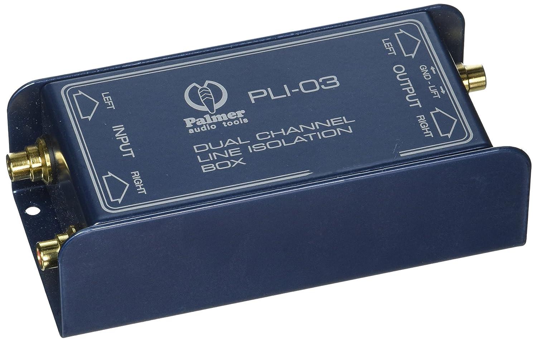 Palmer pal-pli03Line Isolation Box 2Kanal