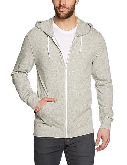 Vans - Sudadera para hombre, tamaño S, color gris
