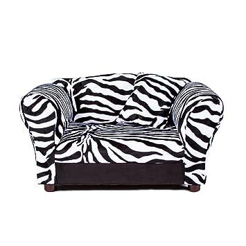 Exceptional Mini Sofa Zebra Pet Bed