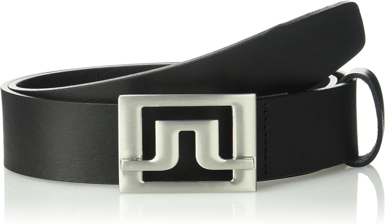 J.Lindeberg Mens Slater Pro Leather Belt
