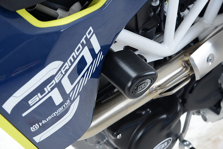 R/&G Aero Style Frame Sliders For Husqvarna 701 Enduro 16-18 /& 701 Supermoto 16-18 White