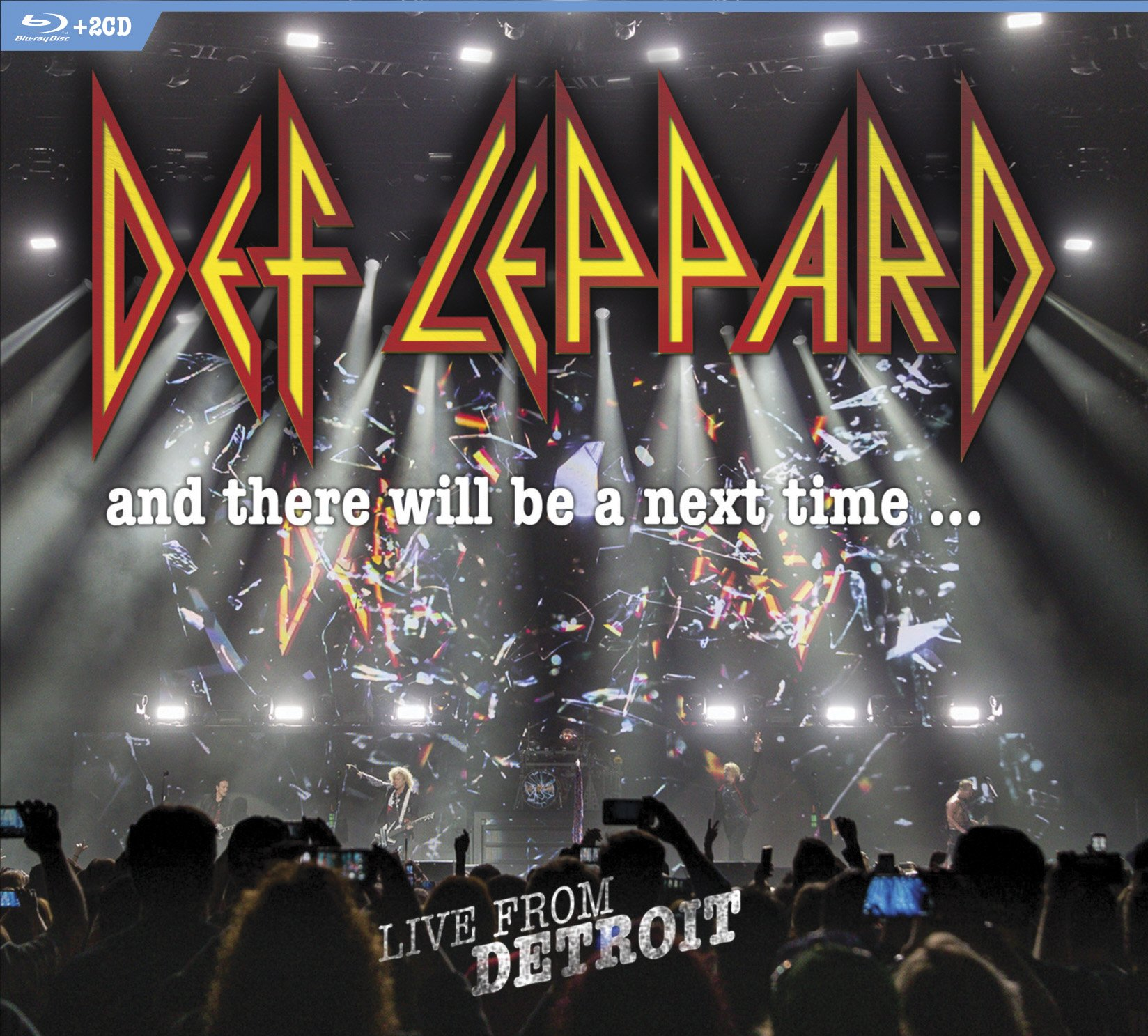 Blu-ray : Def Leppard - And There Will Be A Next Time... Live From Detroit (With CD, Digipack Packaging, 3 Disc)
