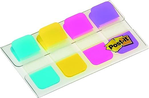 Post-it Index - Pack de 4 x 10 marcadores mini rígidos, colores ...