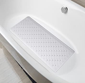 DocBear Natural Rubber Bathtub Mat,Anti Bacterial Bathroom Mat,Mildew  Resistant Bath Mat,
