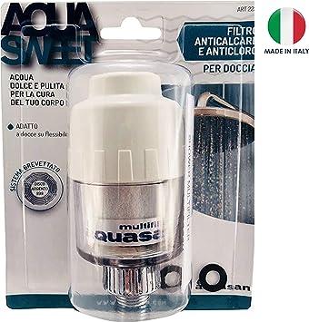 Aquasan Aquasweet filtro de ducha purificador ajusta el pH elimina ...