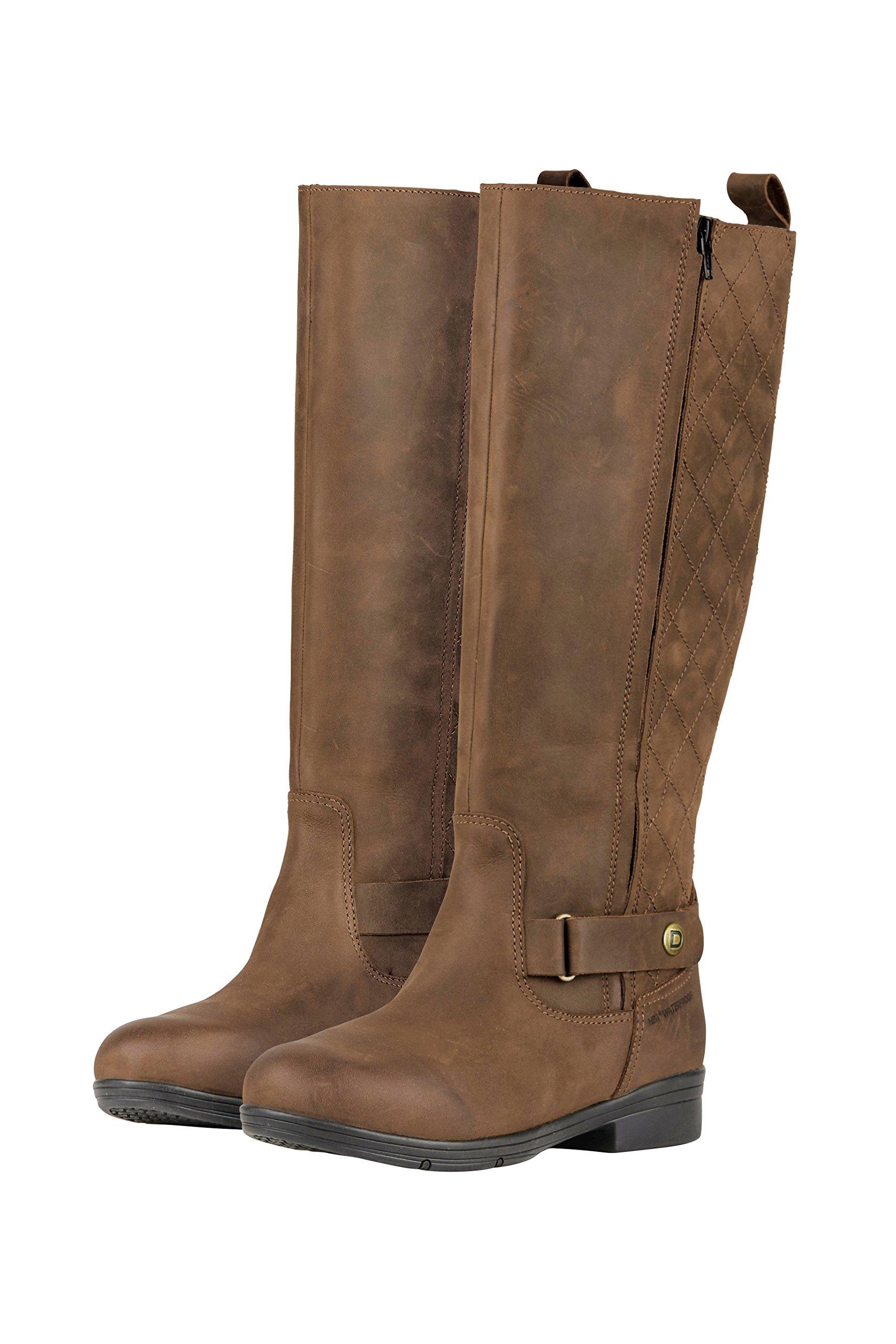 Dublin Ladies Cherwell Tall Dark Brown Boots 11