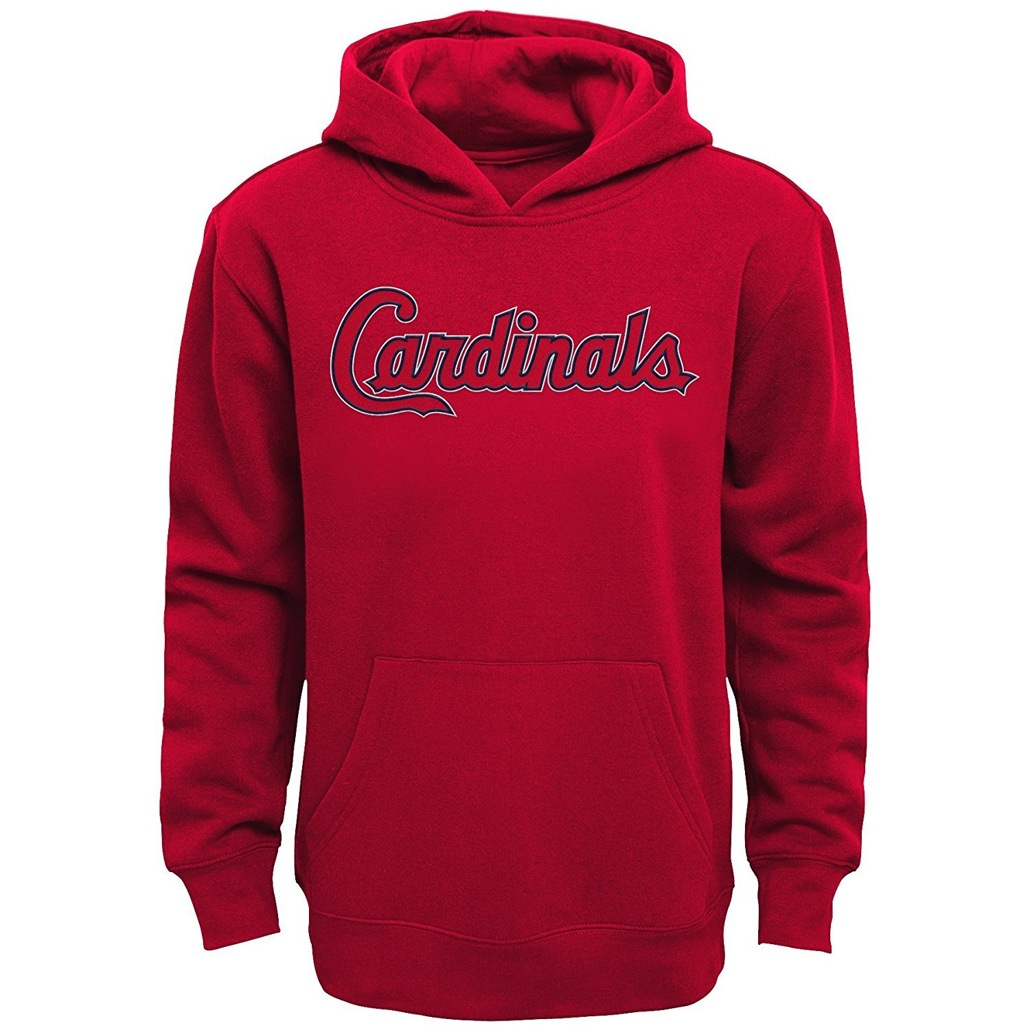 new product 08773 d4a70 St. Louis Cardinals Kids Red Word mark Pullover Hoodie