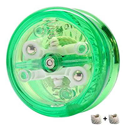 Yomega Brain - The YoYo with a Brain Includes Auto Return Technology - Beginner Level String Trick Yo Yo (Colors May Vary): Toys & Games