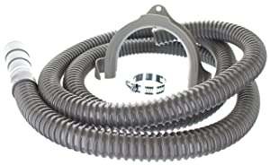 Kelaro Universal Washing Machine Discharge Drain Hose, 8 ft Corrugated